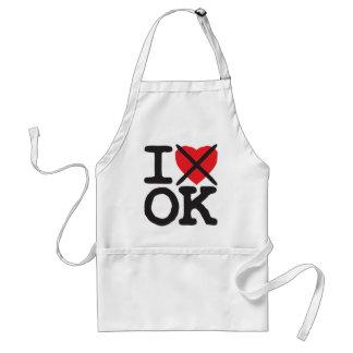 I Hate OK - Oklahoma Apron