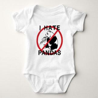 I Hate Pandas Baby Bodysuit