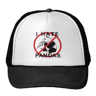 I Hate Pandas Cap