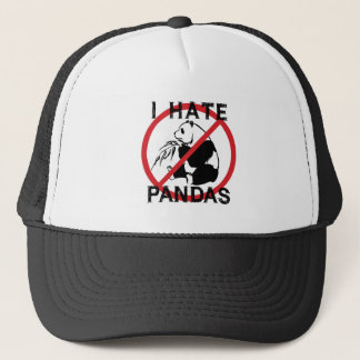 I Hate Pandas Trucker Hat
