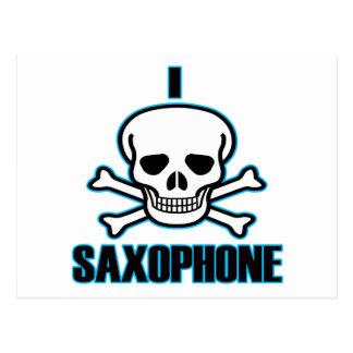 I Hate Saxophone. Postcard