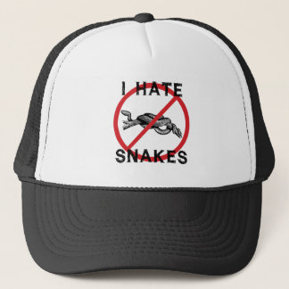 I Hate Snakes Trucker Hat