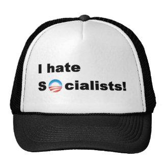 I hate socialists... Obama Cap