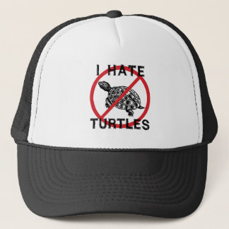 I Hate Turtles Trucker Hat