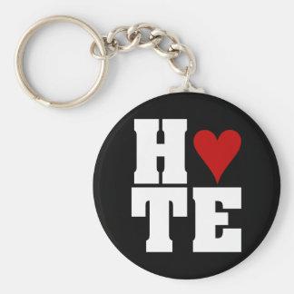 I Hate Valentine's Day Basic Round Button Key Ring