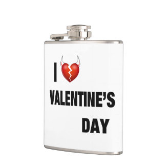 I HATE VALENTINE'S DAY FLASK