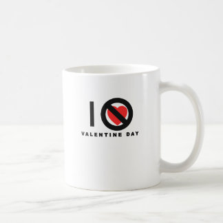 i hate valentine's day shirts.png basic white mug