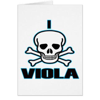 I Hate Viola. Card