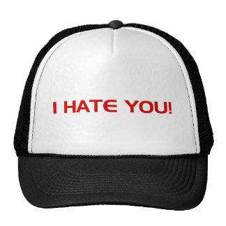 I HATE You Mesh Hats