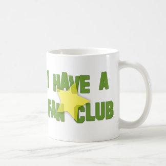 I HAVE A FAN CLUB BASIC WHITE MUG