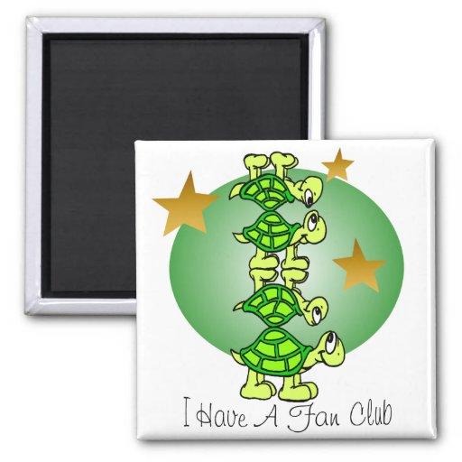 I Have A Fan Club Fridge Magnets