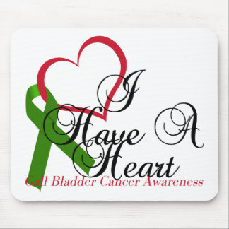 I Have A Heart Gall Bladder Awareness & Support Mouse Pad