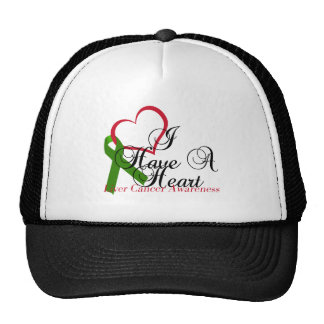 I Have A Heart Liver Cancer Awareness & Support Cap