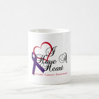 I Have A Heart Pancreatic Cancer Awareness Basic White Mug