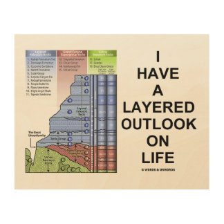 I Have A Layered Outlook On Life Grand Canyon Wood Wall Art