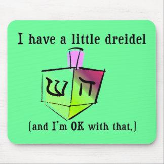 I Have a Little Dreidel Mousepad