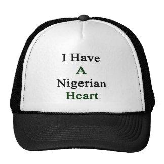 I Have A Nigerian Heart. Trucker Hats
