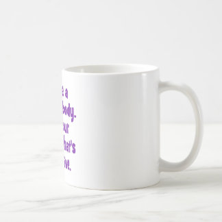 I have a perfect body. basic white mug