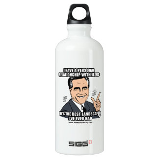 I HAVE A PERSONAL RELATIONSHIP WITH JESUS SIGG TRAVELER 0.6L WATER BOTTLE