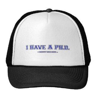 I Have A PH.D. ~ Pretty Huge Dick ~ Cap