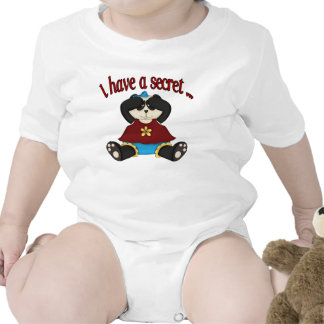 I have a secret big sister panda tshirt