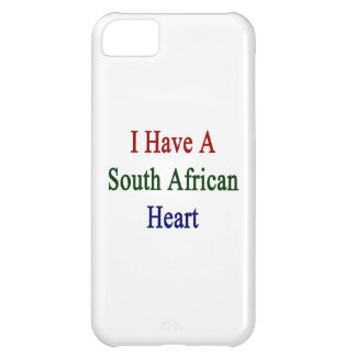 I Have A South African Heart iPhone 5C Covers