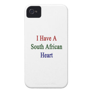 I Have A South African Heart iPhone 4 Covers