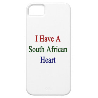 I Have A South African Heart iPhone 5 Cases