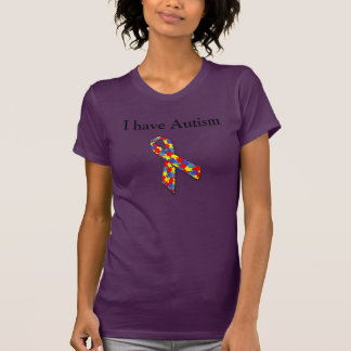 I have Autism - Deal With It Tshirt