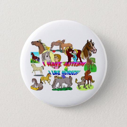 i have autism n like horses 6 cm