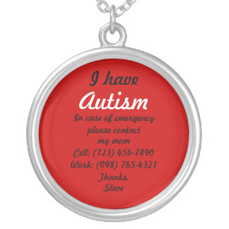 I Have Autism Necklace