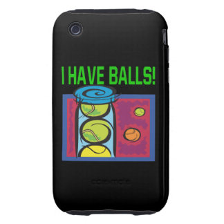 I Have Balls Tough iPhone 3 Covers