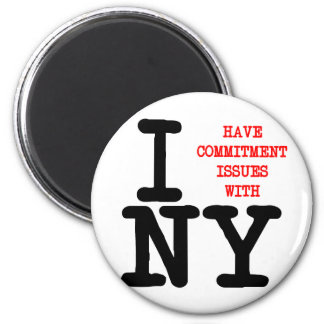 I Have Commitment Issues With NY Refrigerator Magnets