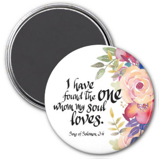 """I Have Found The One 3"""" Round Magnet"""