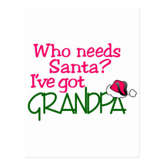 I Have Got Grandpa Postcard