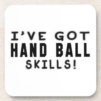 I Have Got Hand Ball Skills Beverage Coasters