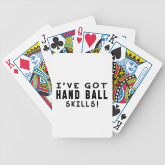 I Have Got Hand Ball Skills Deck Of Cards