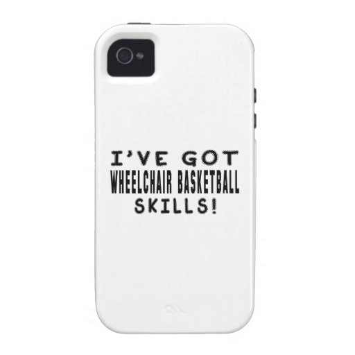 I Have Got Wheelchair Basketball Skills iPhone 4 Cover