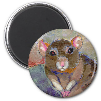 I Have Issues - fun sensitive pet rat painting art Refrigerator Magnets