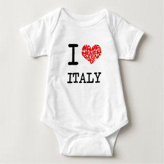 I have never been to Italy Baby Bodysuit