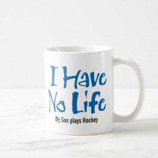 I Have No Life (Blue) Mug