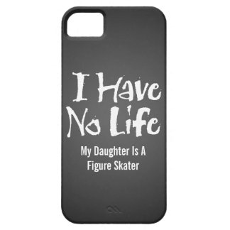 I Have No Life (Figure Skater) iPhone 5 Covers