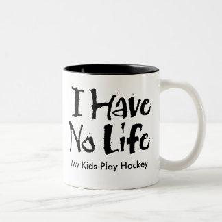 I Have No Life Two-Tone Coffee Mug