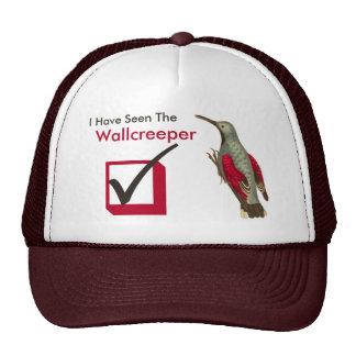 I Have Seen the Wallcreeper Birder's Check Box Cap