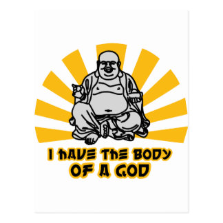 i have the body of a god postcards