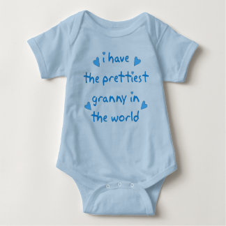 i have the prettiest granny in the world t-shirts