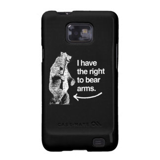I HAVE THE RIGHT TO BARE ARMS.png Samsung Galaxy Case
