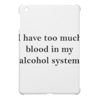 I Have Too Much Blood iPad Mini Cover