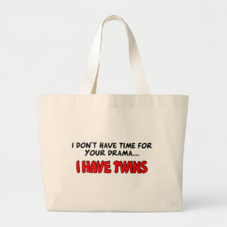 I have Twins Jumbo Tote Bag