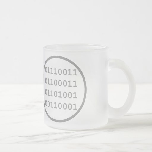I have written a computer program that I use Coffee Mugs
